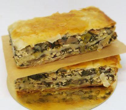 placinta tofu spanac