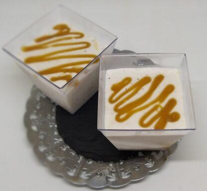 inghetata cu vanilie si caramel sarat