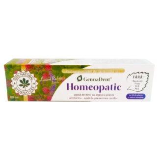 Pasta dinti Homeopatic cu argila si plante